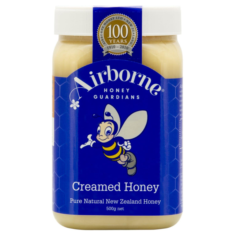 Airborne Creamed Honey, 500 Gram
