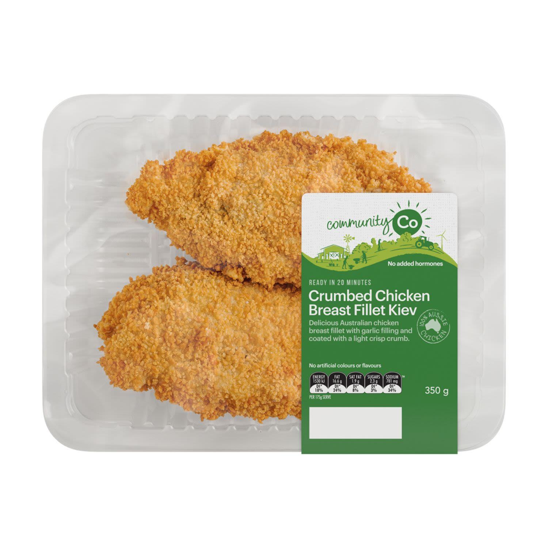 Community Co Crumbed Chicken Kiev, 350 Gram