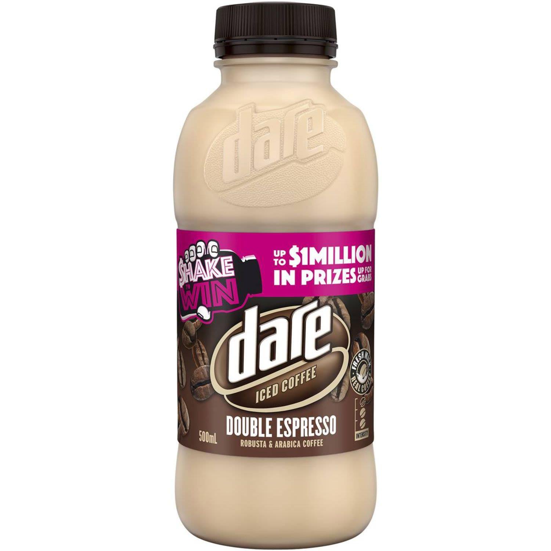 Dare Double Espresso Iced Coffee, 500 Millilitre