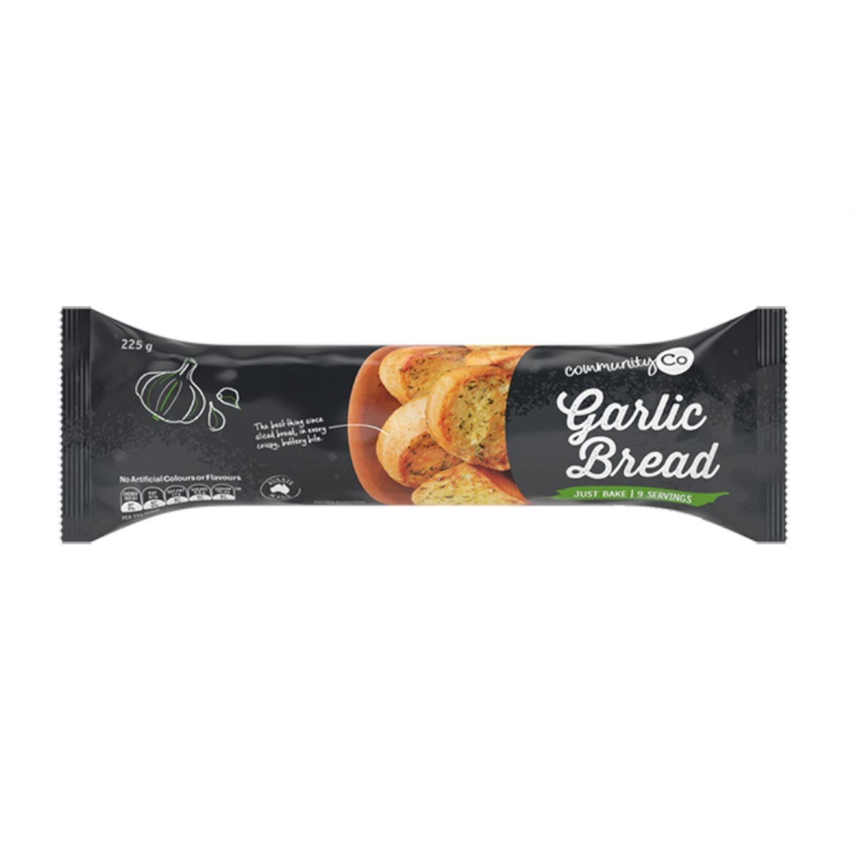 Community Co Frozen Garlic Bread, 225 Gram