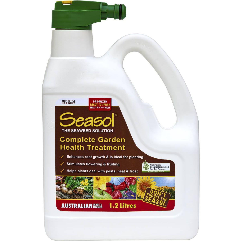 Seasol Complete Garden Health Treatment Hose On, 1.2 Litre