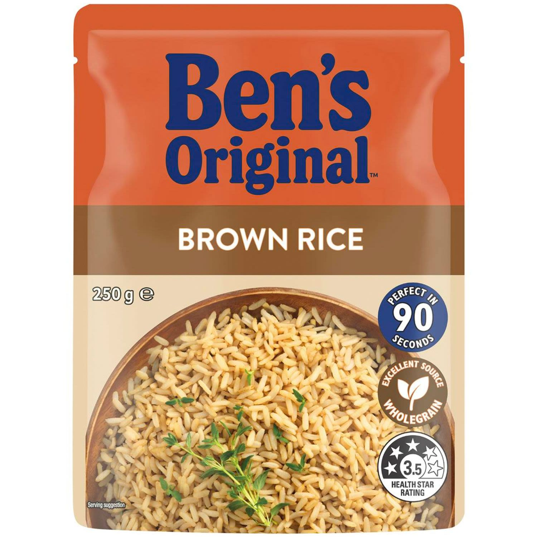 Uncle Ben's Microwave Brown Rice, 250 Gram