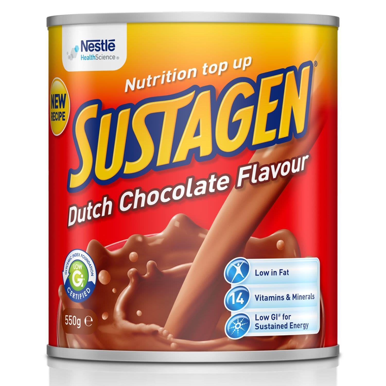 Sustagen Dutch Chocolate Flavour, 550 Gram