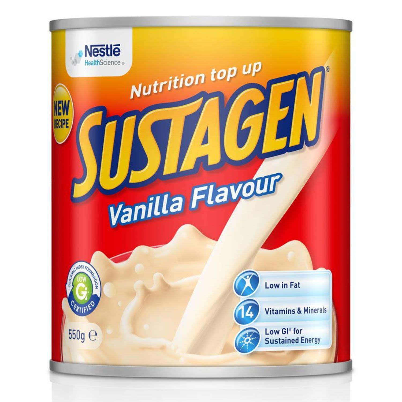 Sustagen Vanilla Flavour, 550 Gram