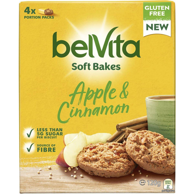 Belvita Soft Bake Apple & Cinnamon, 120 Gram