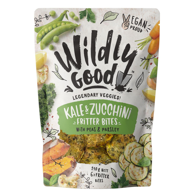 Wildly Good Kale Zucchini Fritter Bites, 210 Gram