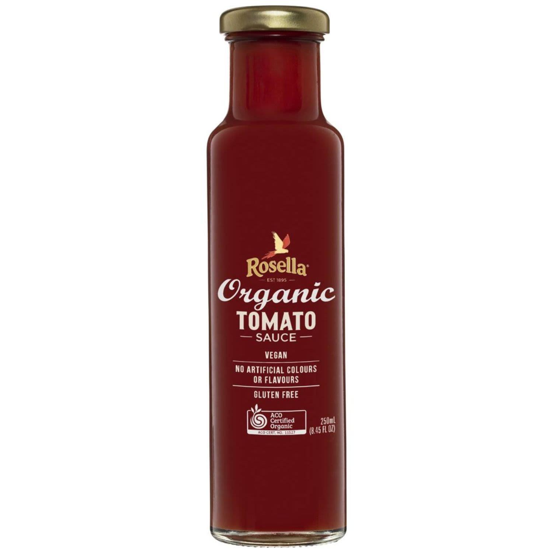 Rosella Organic Tomato Sauce, 250 Millilitre