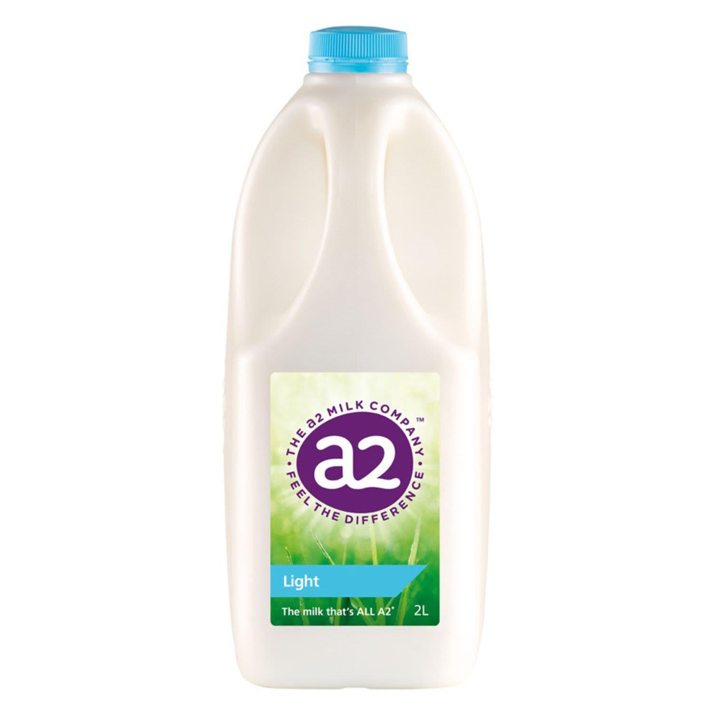 A2 Light Milk, 2 Litre