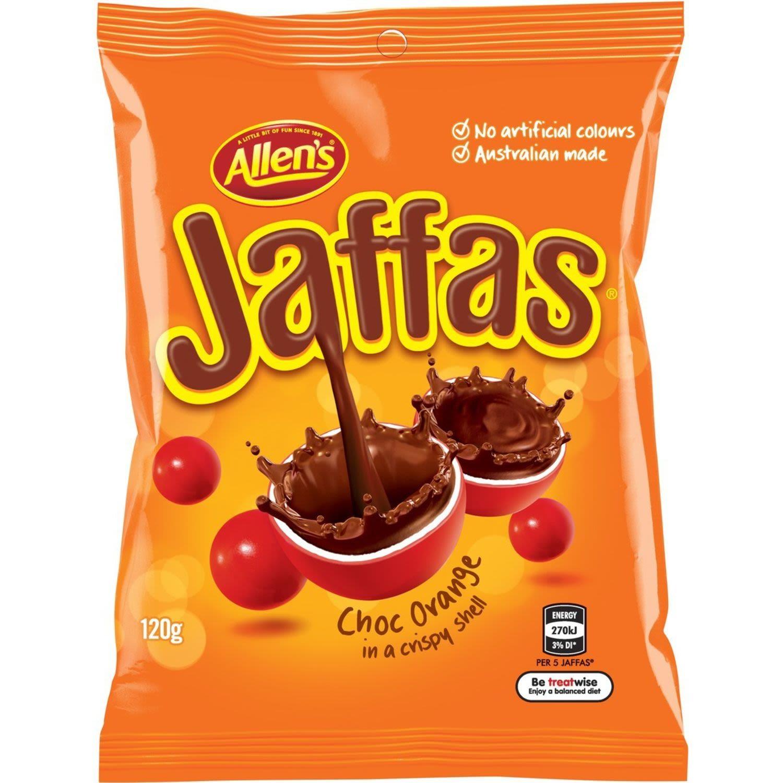 Allen's Jaffas, 120 Gram