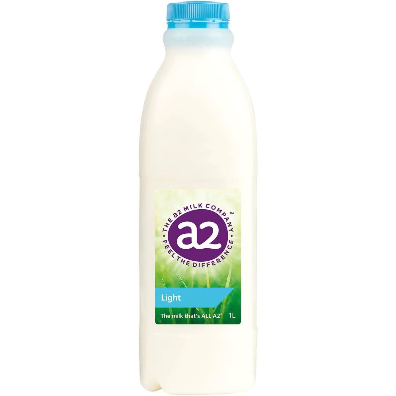 A2 Light Milk, 1 Litre