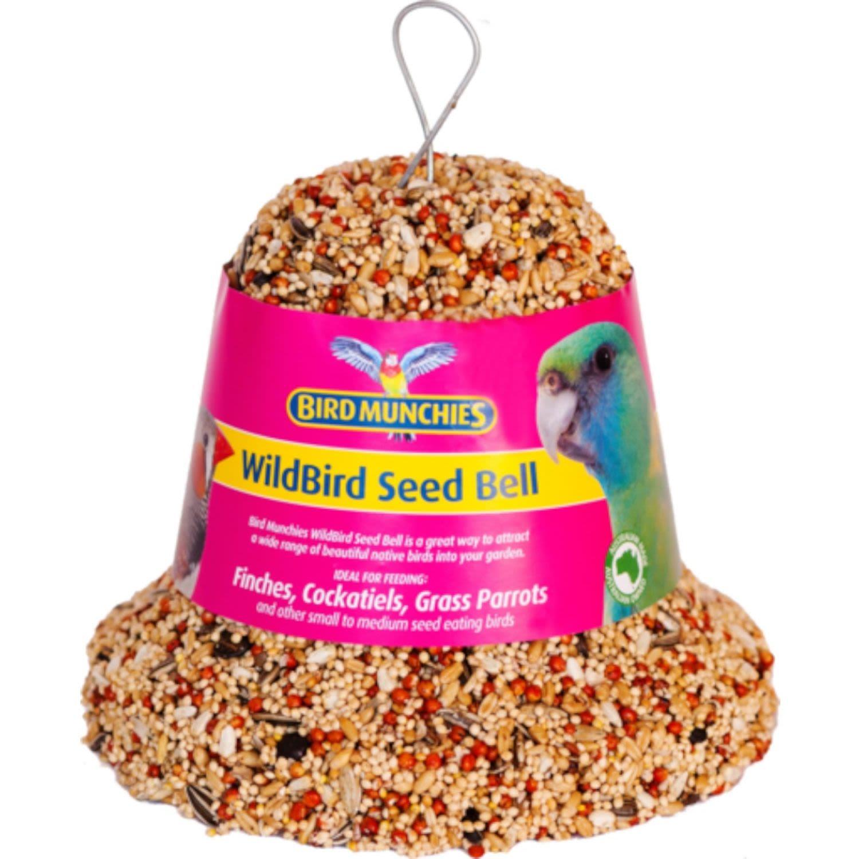 Bird Munchies Wild Bird Seed Bell, 750 Gram