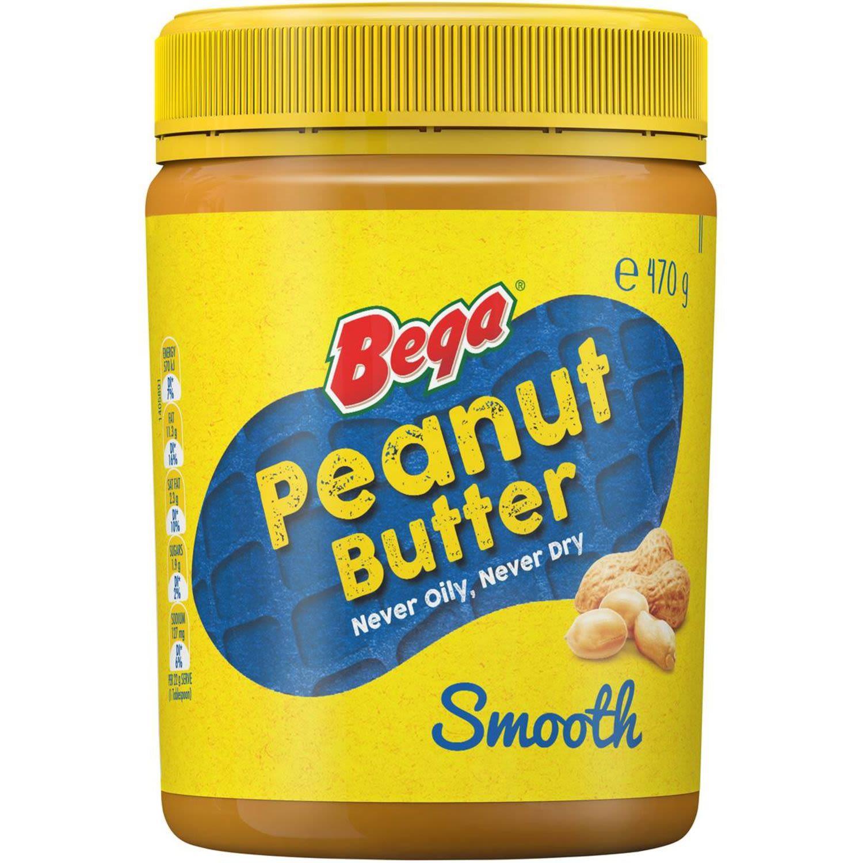 Bega Smooth Peanut Butter, 470 Gram