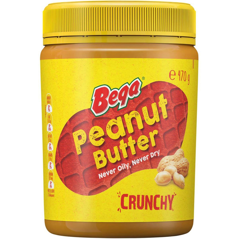 Bega Crunchy Peanut Butter, 470 Gram