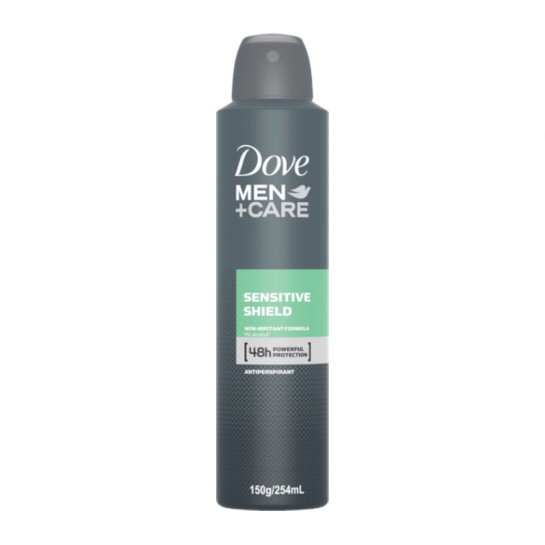 Dove Men Deodorant Aerosol Sensitive Shield, 250 Millilitre