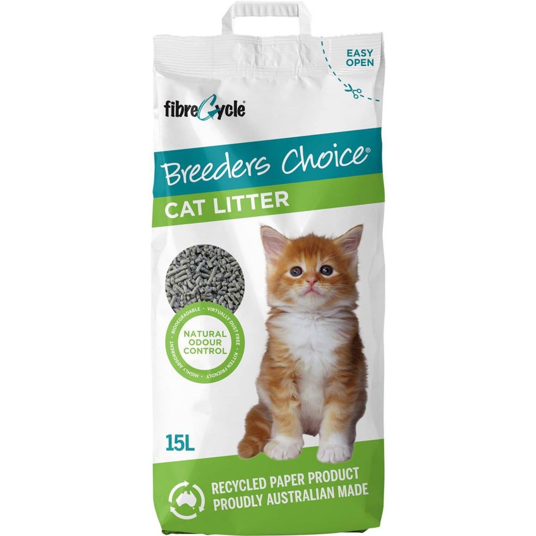 Breeders Choice Cat Litter , 15 Litre