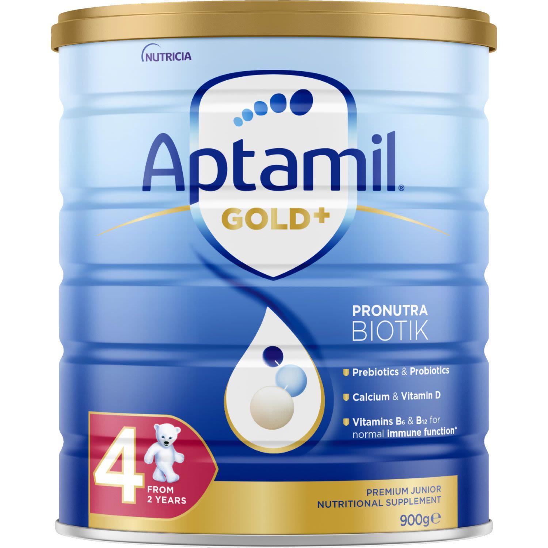 Aptamil Gold+ 4 Junior Nutritional Supplement From 2 Years, 900 Gram