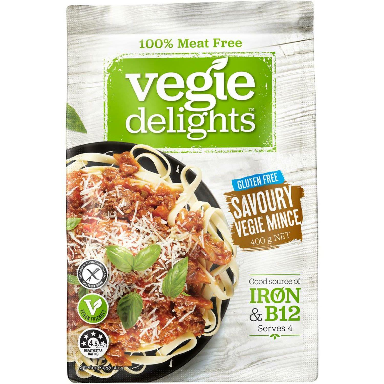 Vegie Delights Vegie Mince, 400 Gram