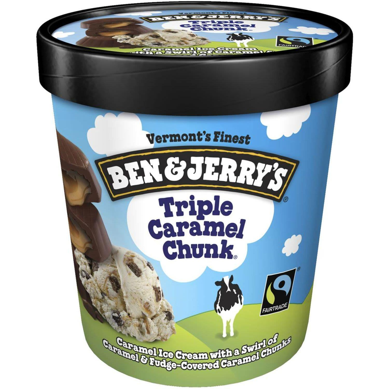 Ben & Jerry's Ice Cream Triple Caramel Chunk, 458 Millilitre