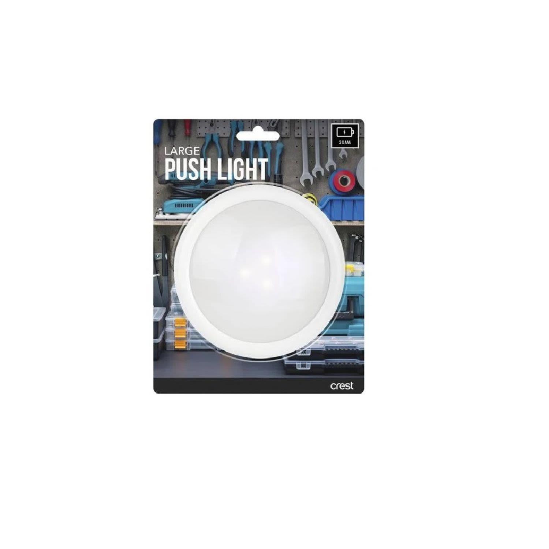 Crest Large Push Light, 1 Each