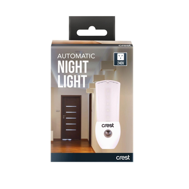 Crest Automatic Night Light 240V, 1 Each
