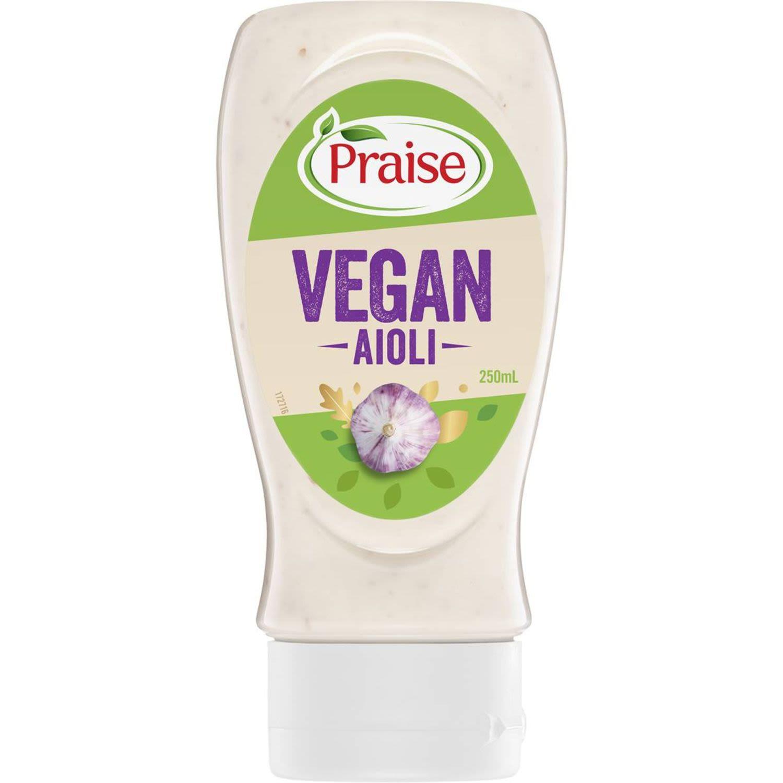 Praise Vegan Aioli, 250 Millilitre