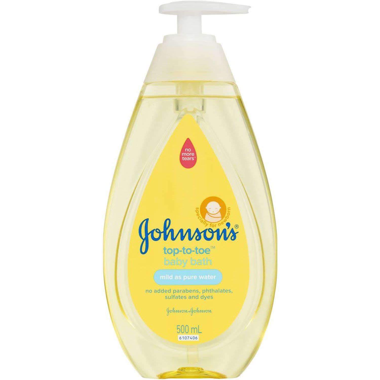 Johnson's Baby Wash Top To Toe Bath, 500 Millilitre