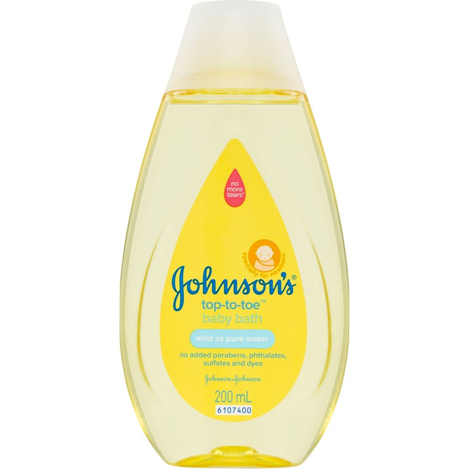 Johnson's Baby Top-To-Toe Baby Wash, 200 Millilitre