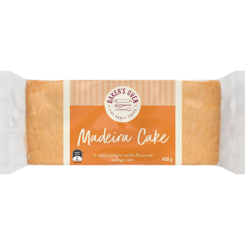 Baker's Oven Normal Madeira Cake, 450 Gram