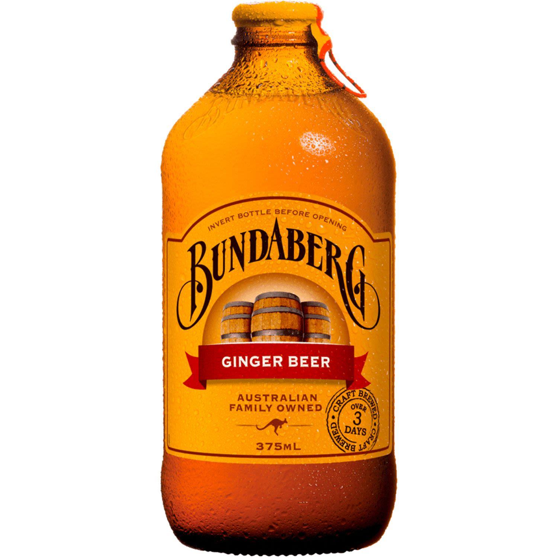 Bundaberg Brewed Dark Ginger Beer, 375 Millilitre