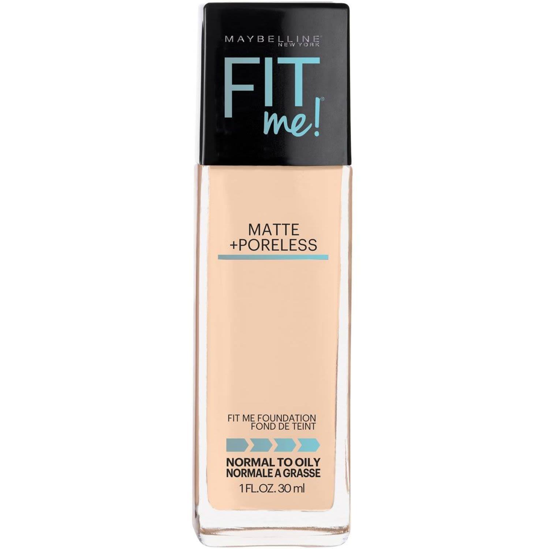 Maybelline Fit Me Matte & Poreless Foundation - Classic Ivory 120, 30 Millilitre
