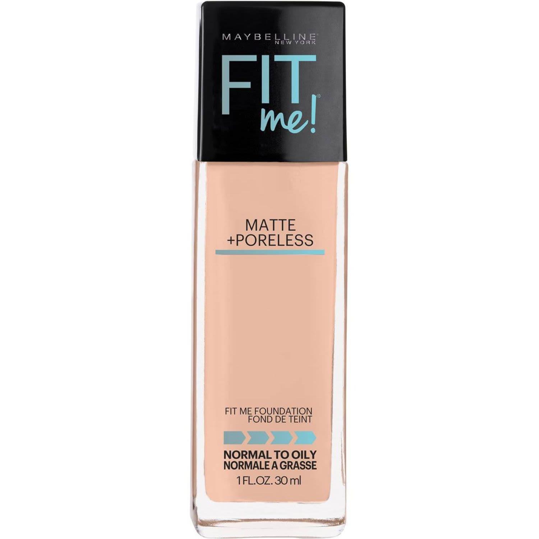 Maybelline Fit Me Matte & Poreless Foundation - Natural Beige, 30 Millilitre
