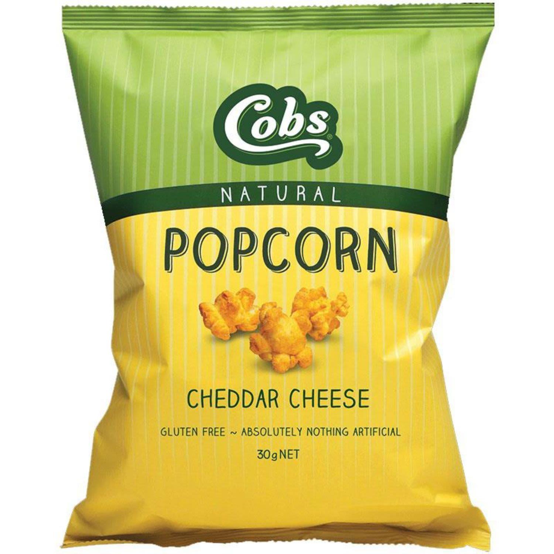 Cobs Cheddar Cheese Popcorn, 30 Gram