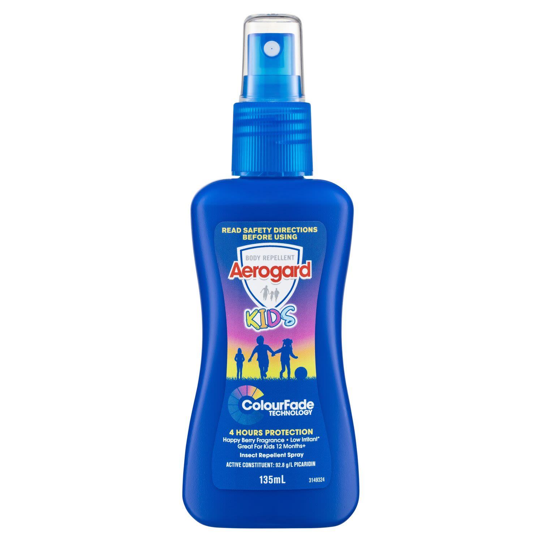 Aerogard Kids Insect Repellent Spray, 135 Millilitre