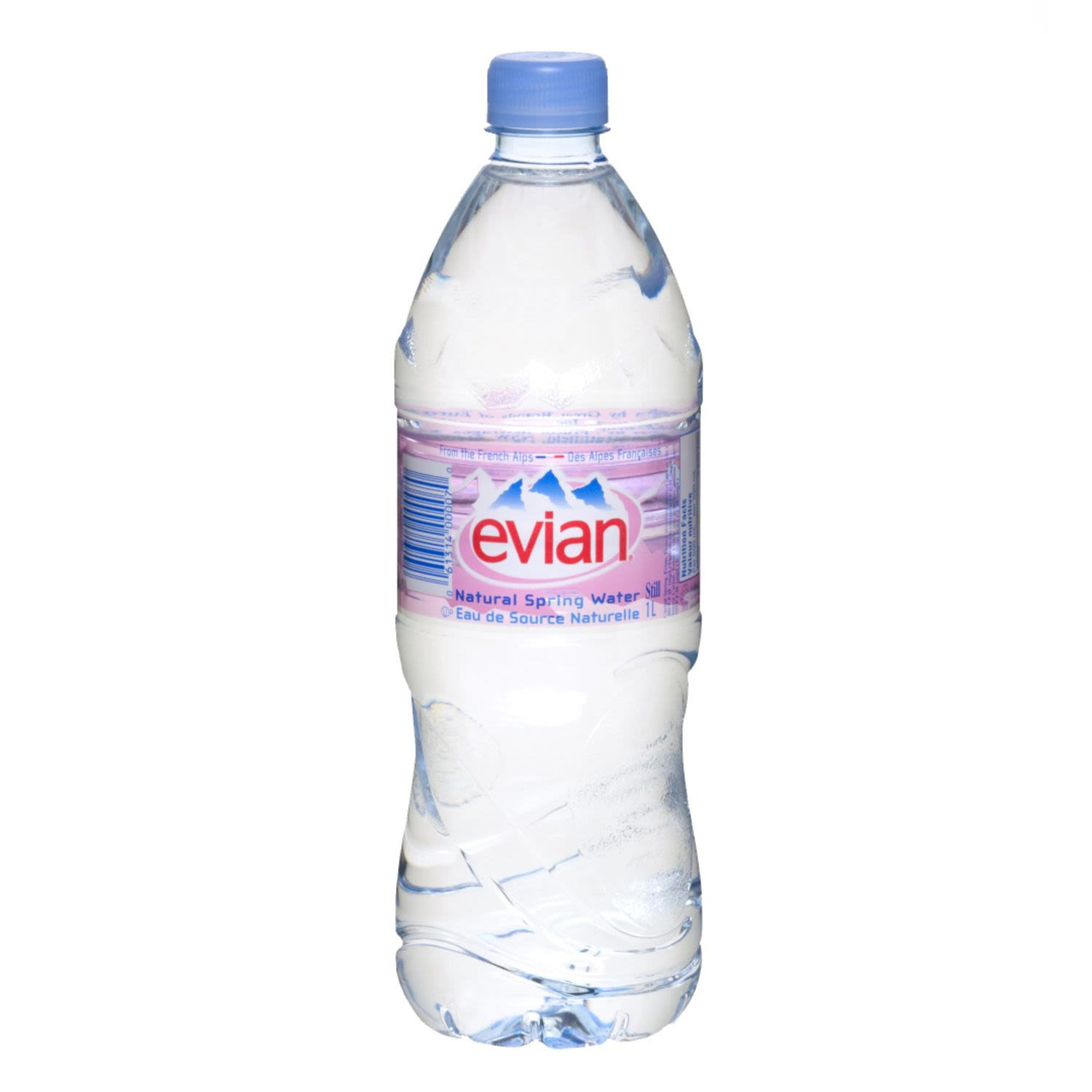 Evian Natural Mineral Water, 1 Litre