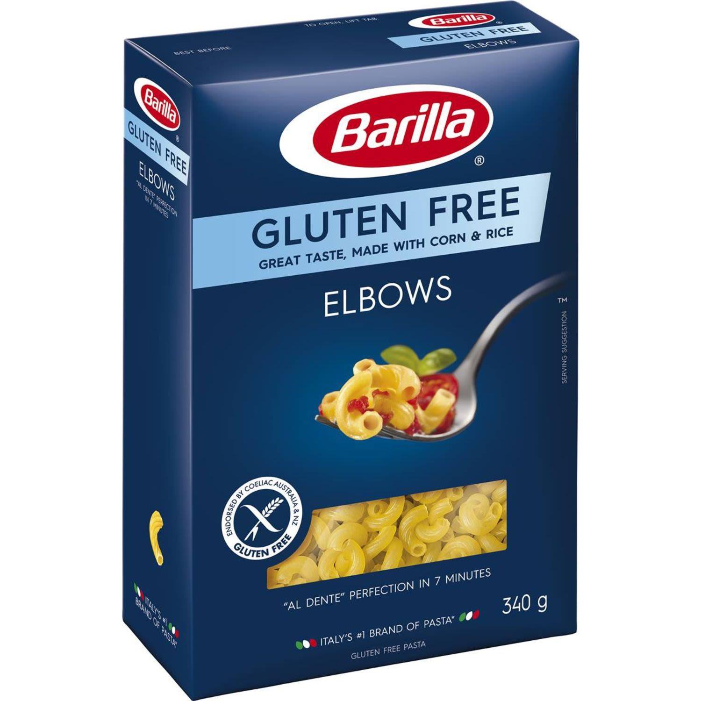 Barilla Elbow Pasta Gluten Free, 340 Gram