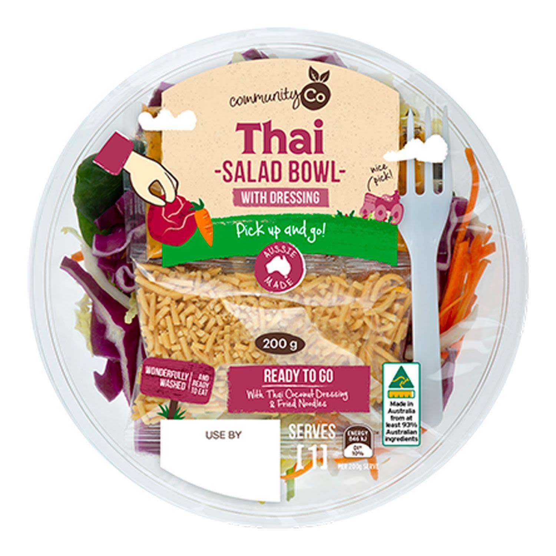 Community Co Thai Salad Bowl, 200 Gram