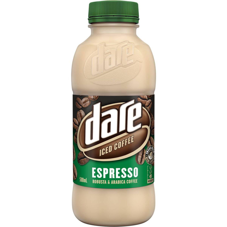 Dare Espresso Iced Coffee, 500 Millilitre