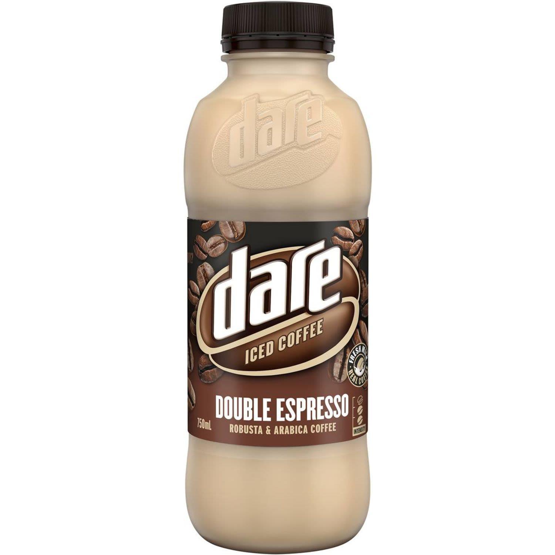 Dare Double Espresso Iced Coffee, 750 Millilitre