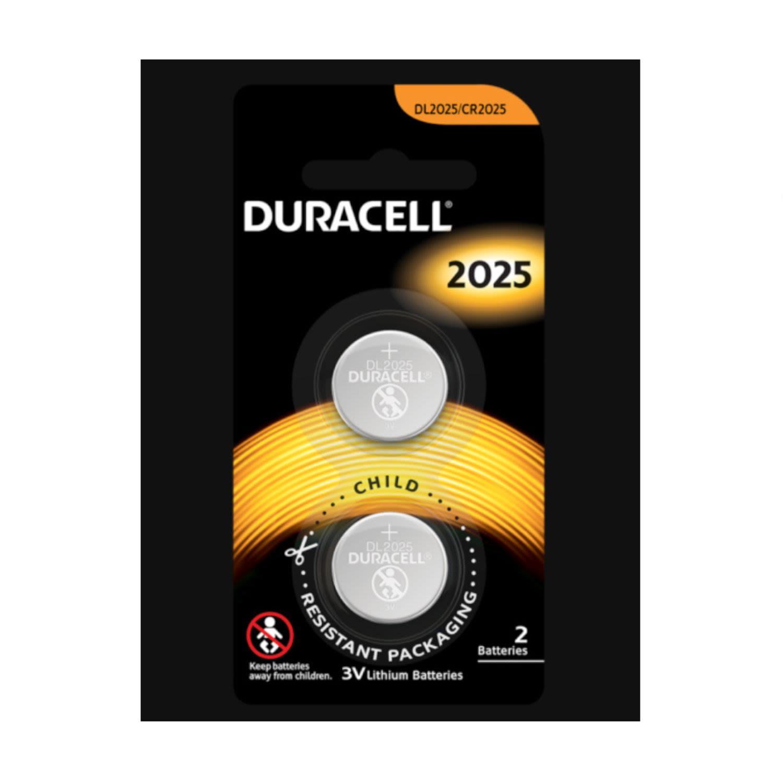 Duracell Button Cell Battery 2025, 2 Each