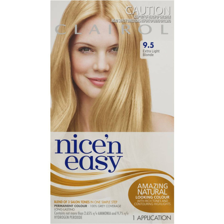 Clairol Nice N Easy Extra Light Blond 9.5, 1 Each