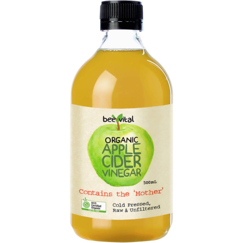 Bee Vital Organic Apple Cider Vinegar, 500 Millilitre