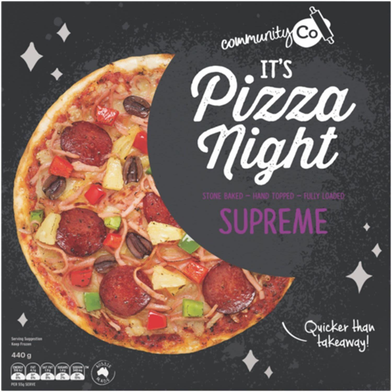 Community Co Pizza Supreme, 440 Gram