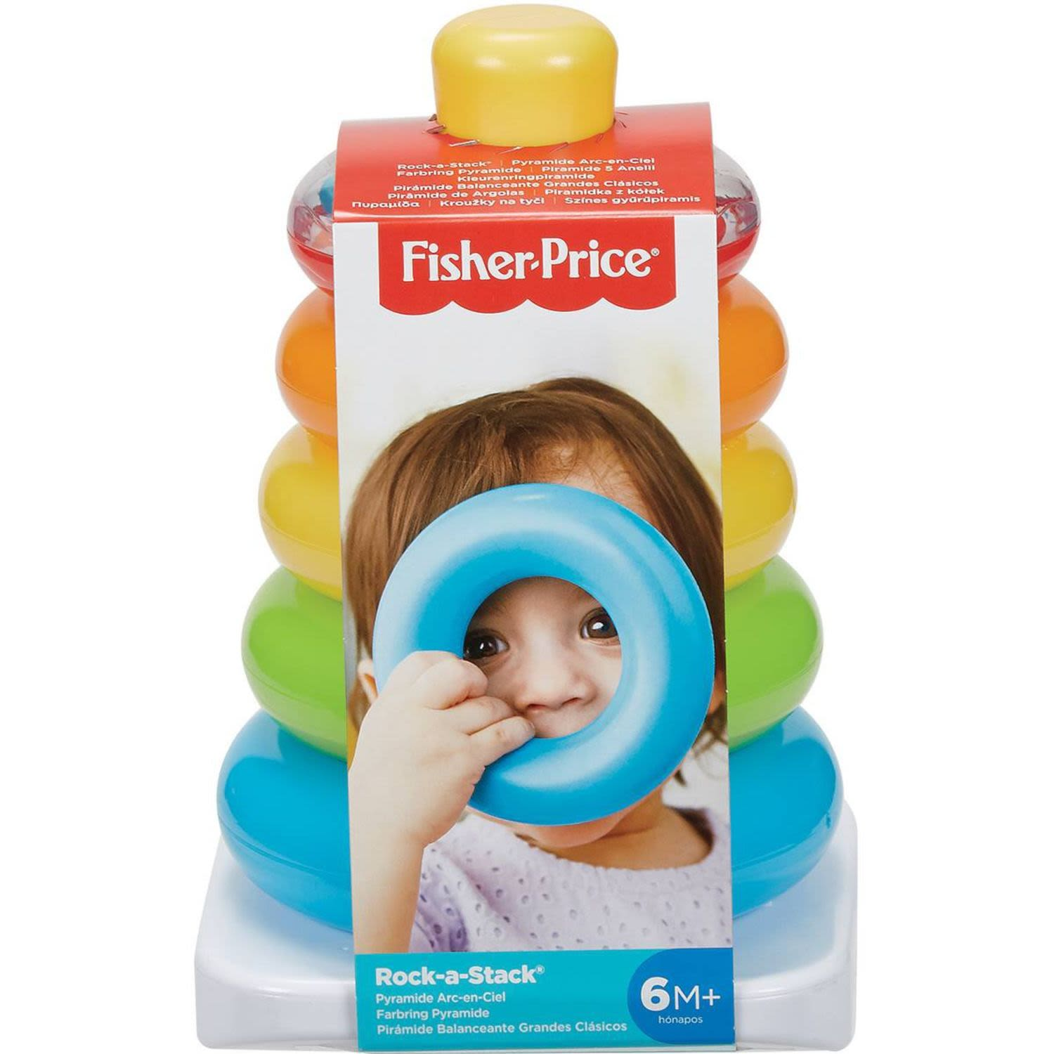 Fisher-Price Rock A Stack, 1 Each