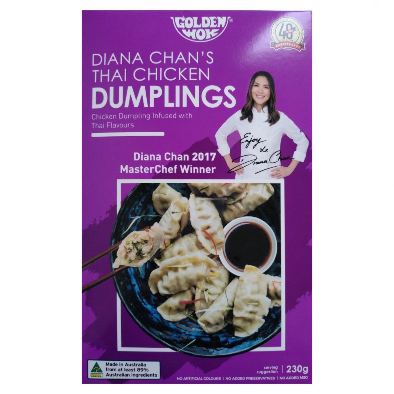 Golden Wok Thai Chicken Dumpling, 230 Gram