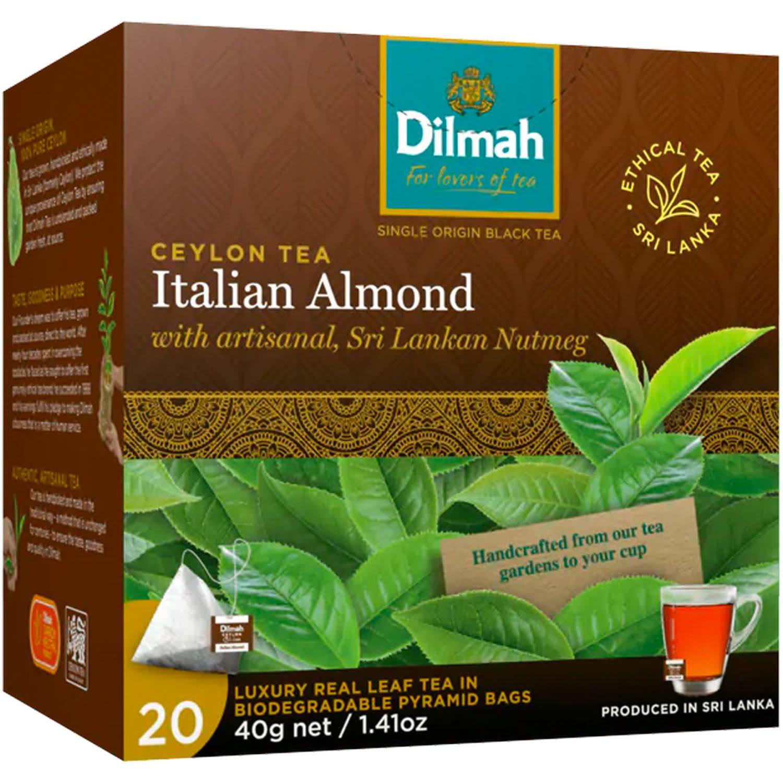 Dilmah Italian Almond Tea Bag, 20 Each