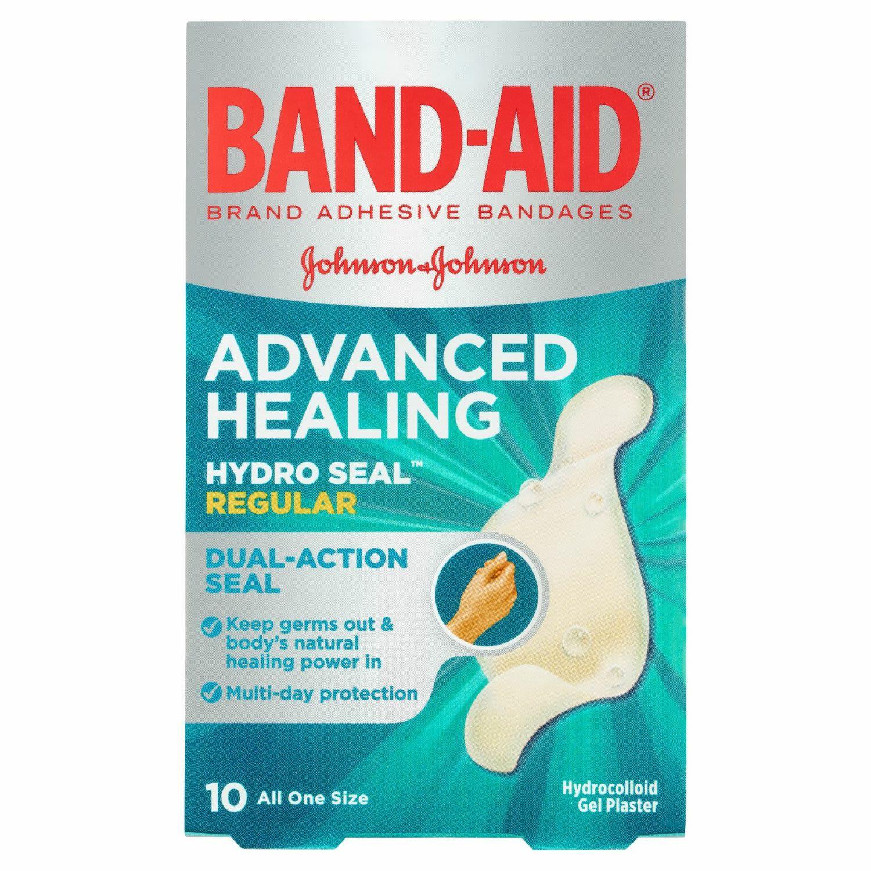 Band-aid Advanced Healing Hydro Seal Gel Plasters Regular, 10 Each