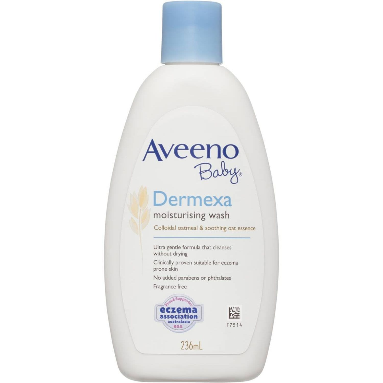 Aveeno Baby Dermexa Wash, 236 Millilitre