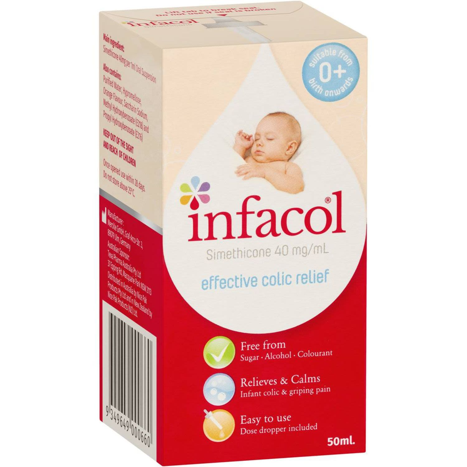 Infacol Effective Colic Relief, 50 Millilitre