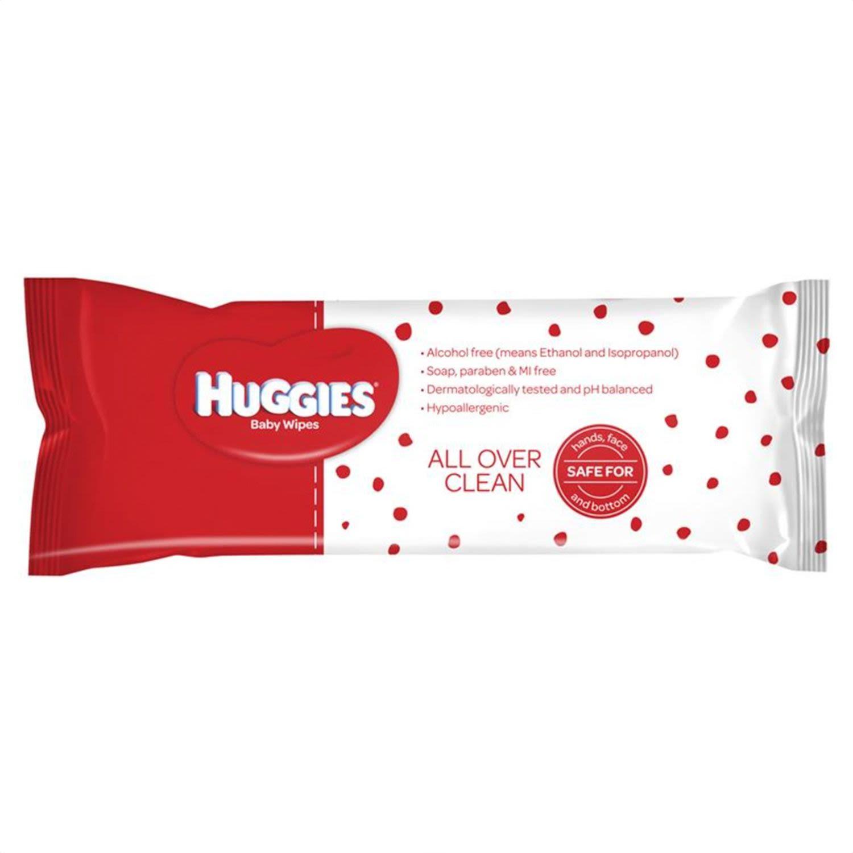 Huggies Essential Clean Baby Wipes, 80 Each