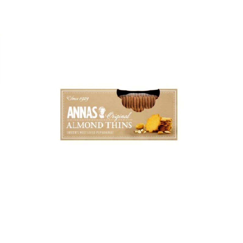 Anna's Almond Thins, 150 Gram